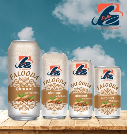 Falooda Drink With Almond Flavour Can