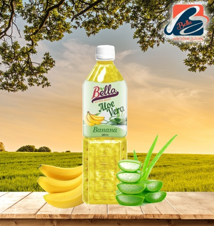 Aloe Vera Drink With Banana