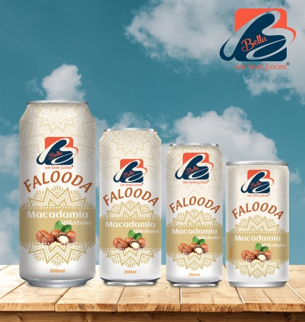 Falooda Drink With Macadamia Flavour Can