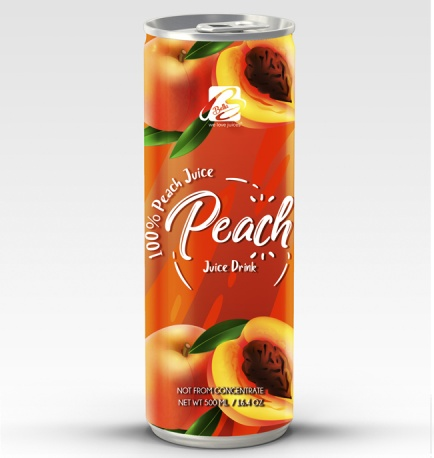 Fruit Juice Drink With Peach Flavour 500 ml