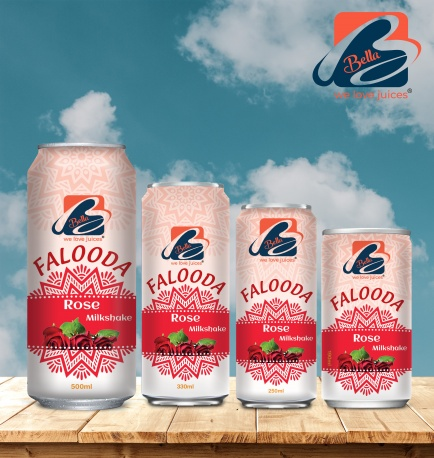 Falooda Drink With Rose Flavour Can
